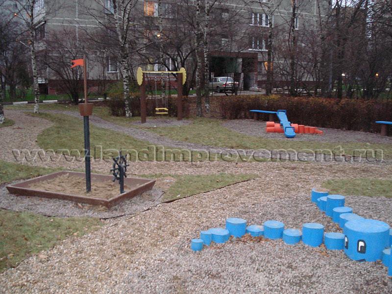 Малые архитектурные формы своими руками для детского сада